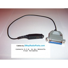 1616 - Radio to R.I.B.  Motorola Visar Programming Cable