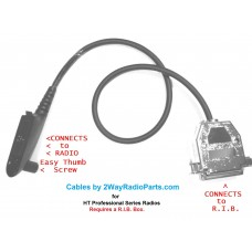 752555b - HT750-HT1550 and more models RIB to Radio Programming Cable