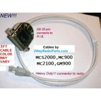 mcs2000 - High Quality Radio to R.I.B. 3 ft. Programming Cable
