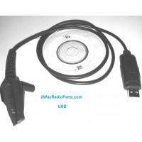kwd36usb -  USB Programming Cable for Kenwood TK Handheld Radios. KPG-36/KPG36 TYPE