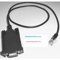 kwdtkm4 - RS232 DB9 Programming Cable for Kenwood TK Mobile Radios. KPG-4/KPG4 TYPE