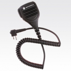 PMMN4029A PMMN4029 - Motorola Remote Speaker Microphone with IP57 Rating, Coiled Cord No Earplug