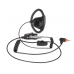 PMLN7159A PMLN7159 - Adjustable D-style earpiece with in-line microphone and push-to-talk, black