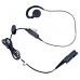 PMLN5727A PMLN5727 - Motorola MagOne Swivel Earpiece with inline PTT and Microphone