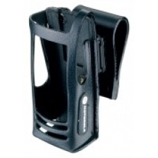 PMLN5019C PMLN5019 - MotoTRBO Hard Leather Carry Case with 2.5in Swivel Belt Loop for Display Radio