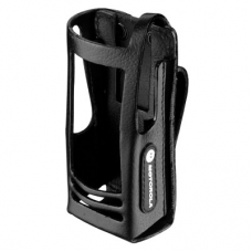 PMLN5021C PMLN5021 - MotoTRBO Hard Leather Carry Case with 3in Fixed Belt Loop for Display Radio