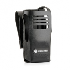 PMLN5030B PMLN5030 - MotoTRBO Hard Leather Carry Case with 3in Fixed Belt Loop for Non-Display Radio
