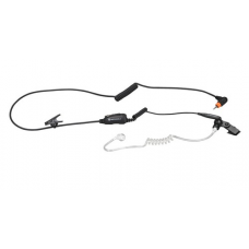 PMLN7158A PMLN7158 - Motorola 1-Wire Surveillance Kit with in-line microphone and push-to-talk Black