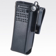 PMLN5324C PMLN5324 - Motorola Leather Carry Case with 2.75in swivel belt loop for short batteries