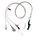 PMLN6124A PMLN6124 - Motorola IMPRES 3-Wire Surveillance Kit w/tube, Beige