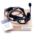 PMLN5011A PMLN5011 - Motorola Temple Transducer (2 Prong) with Boom Microphone