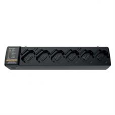 PMPN4465A PMPN4465 - Motorola 6-Pocket Multi-Unit Charger (MUC) Kit, US Plug