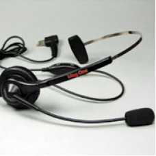 PMLN4445A PMLN4445 - Mag One Ultra Lightweight Headset with In-Line Push-to-Talk / VOX Switch