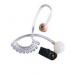 RLN6241A RLN6241 - Motorola Low Noise Kit - Clear Acoustic Tube Assembly includes 1 Clear Rubber Ear