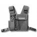 HLN6602A HLN6602 - Universal Chest Pack with Radio Holder, Pen Holder and Velcro Secured Pouch